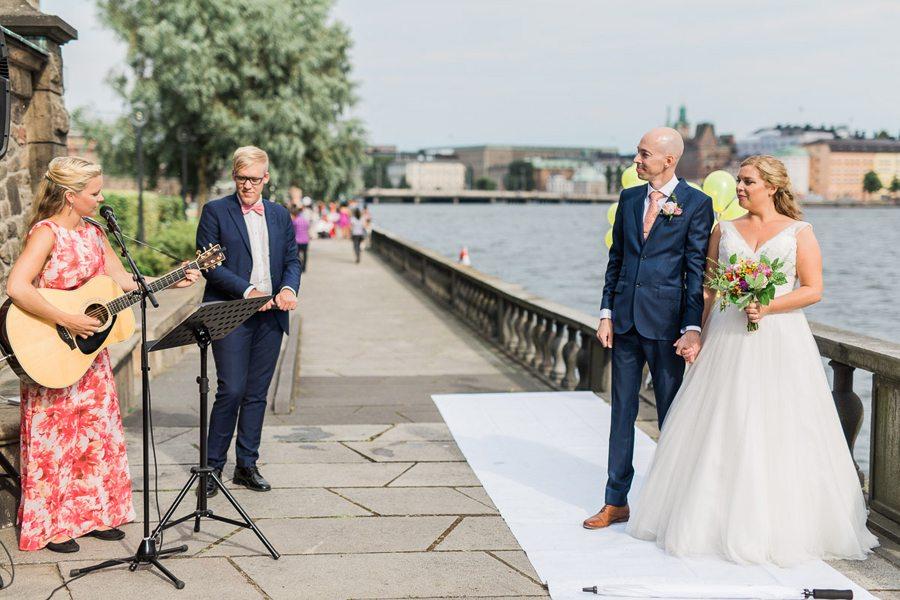 Bröllop med vigsel i Stockholm Stadshus!