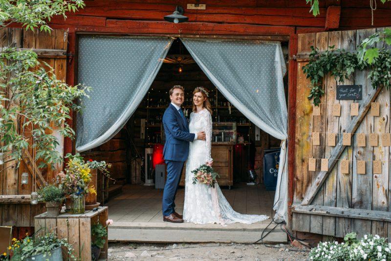 Lantligt bröllop, Lidingö