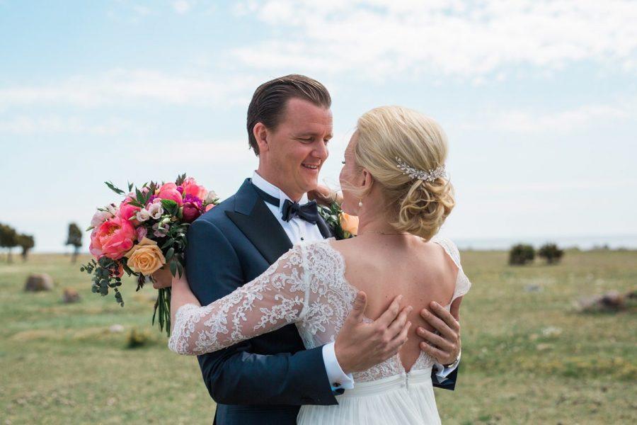 Brudpar, Bröllop Gotland