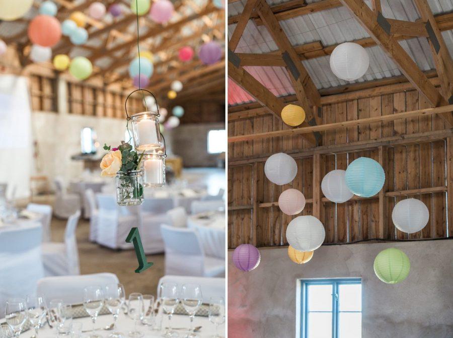 Bröllopsdukning, Bröllop Stora Gåsemora gård.
