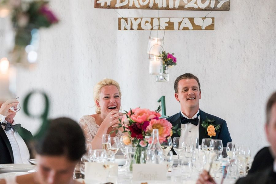 Bröllopsmiddag Stora Gåsemora gård.