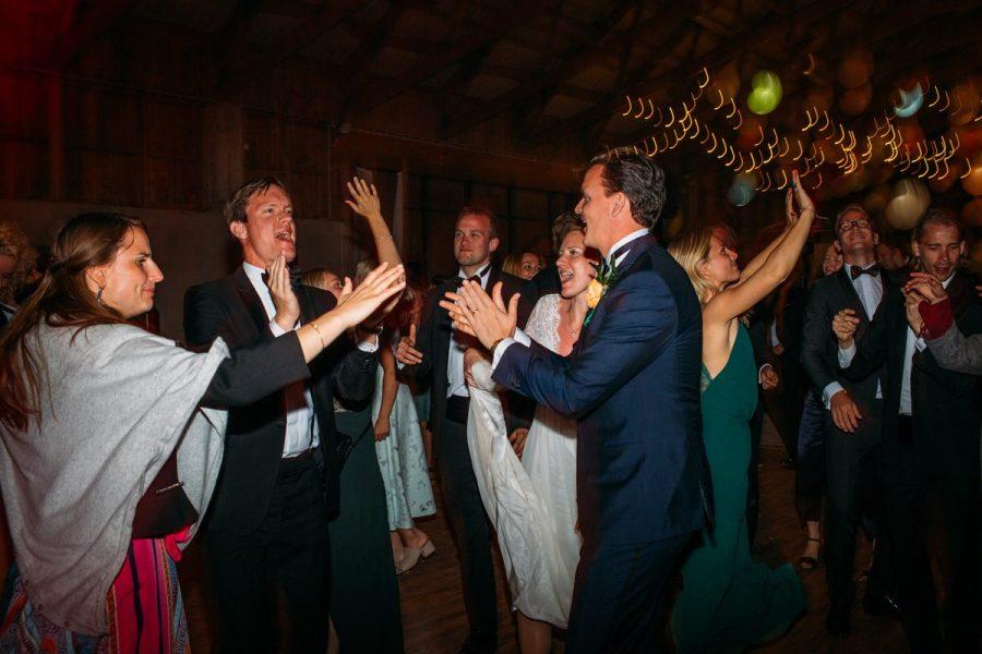 Bröllopsfest på Stora gåsemoragård