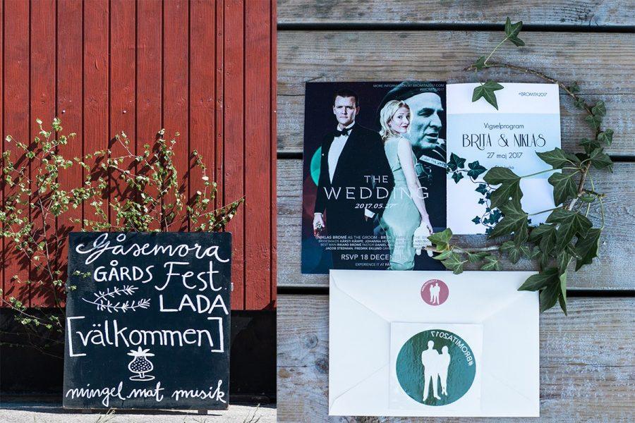 Stora Gåsemora Gård, Bröllop Fårö