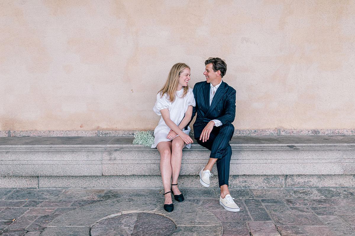 Bröllop med vigsel i Stadshuset