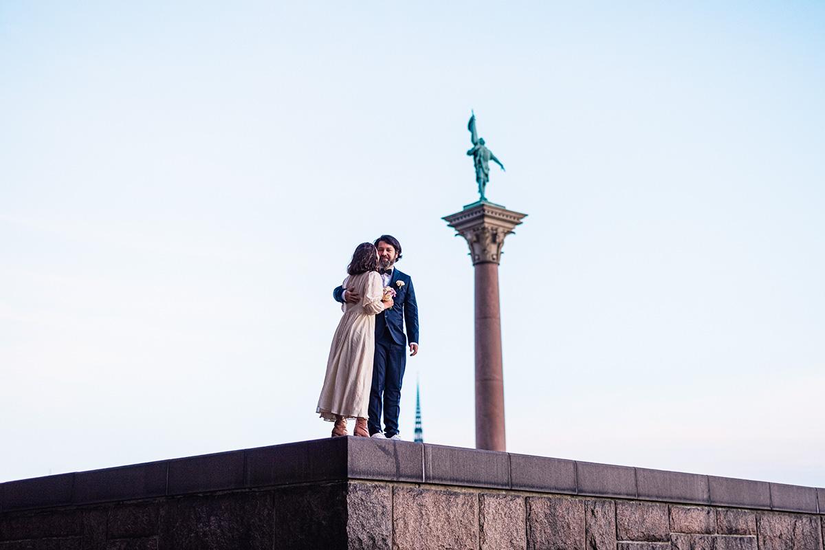 Fotograf bröllop i Stadshuset