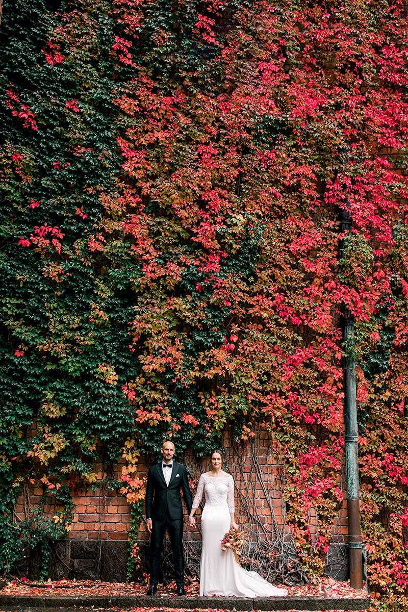 Höstbröllop Stadshuset