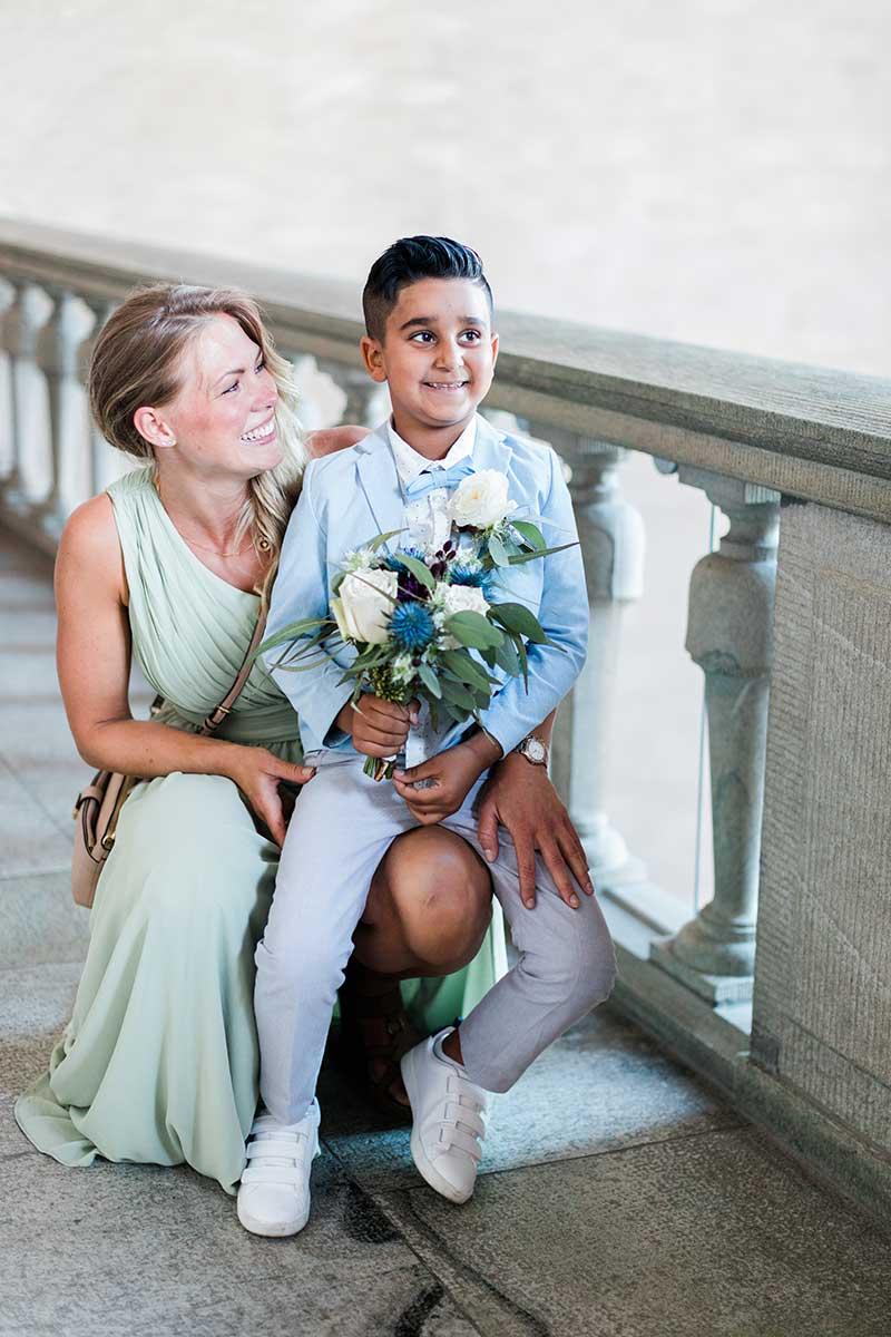 Bröllop med vigsel i Stockholm Stadshus.Bröllop Stadshuset