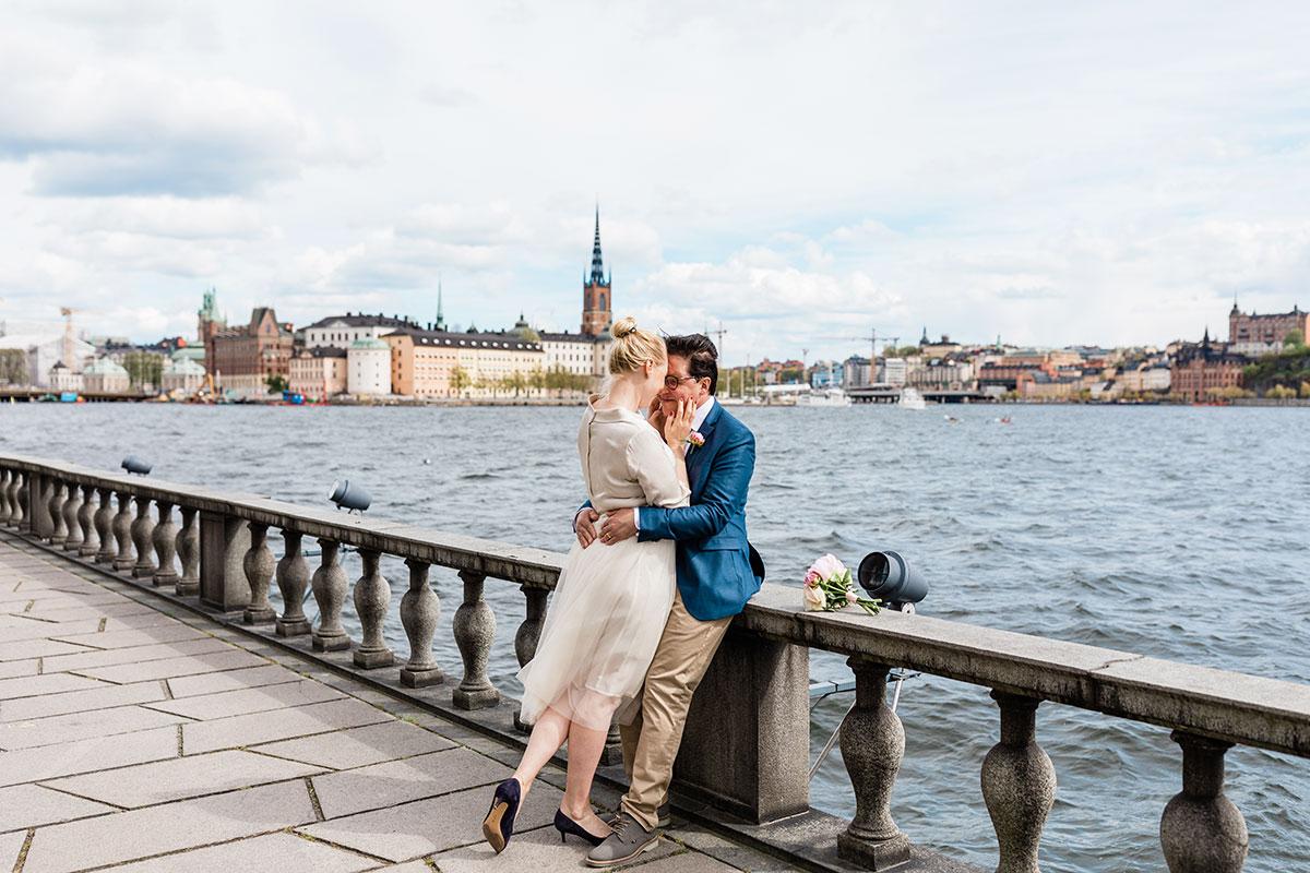 Bröllop Stadshuset, Vigsel i Stadshuset