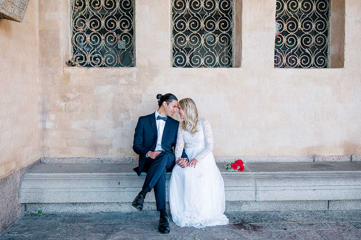 Bröllop i Stadshuset, Vigsel i Stadshuset