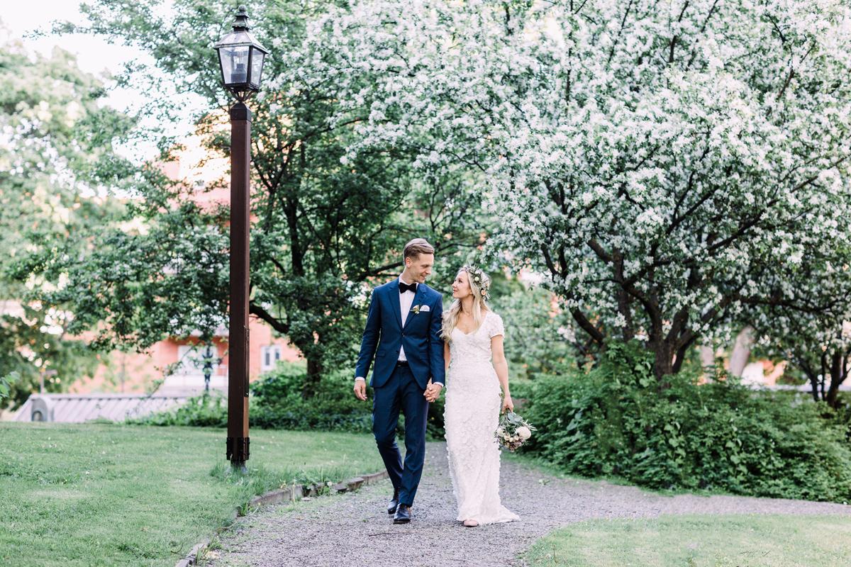Kungsholmes Kyrka, Bröllopsfotograf, Ida Sjöstedt