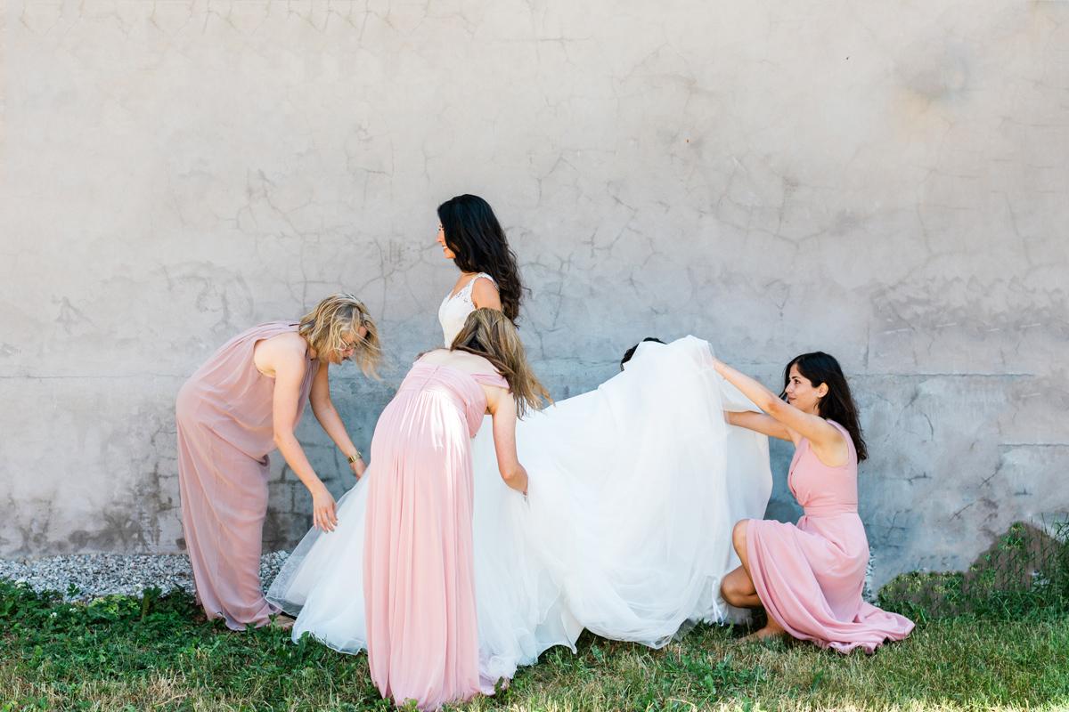 Brudtärnor, Tärnklänningar, bröllop