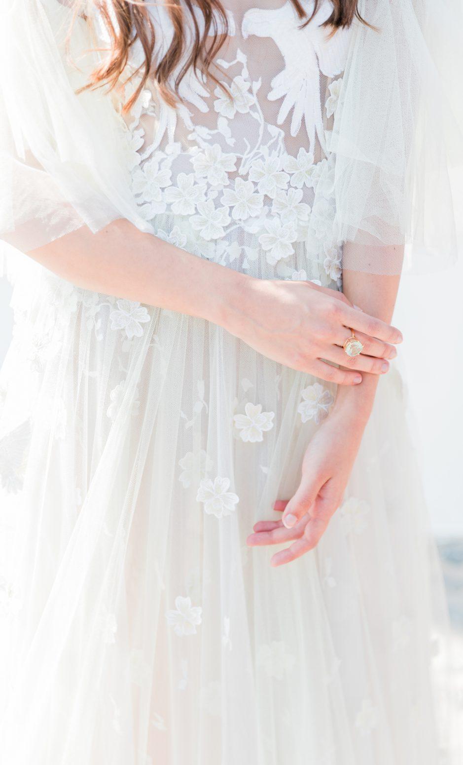 Minimalistisk bröllopsinspiration från Santorini