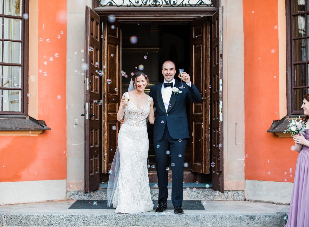 Bröllop på Lejondal slott