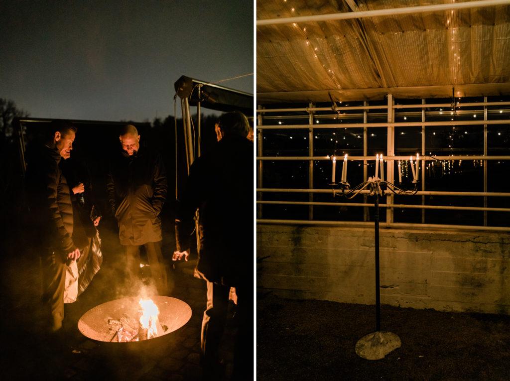 Vinterbröllop Rosendals trädgård