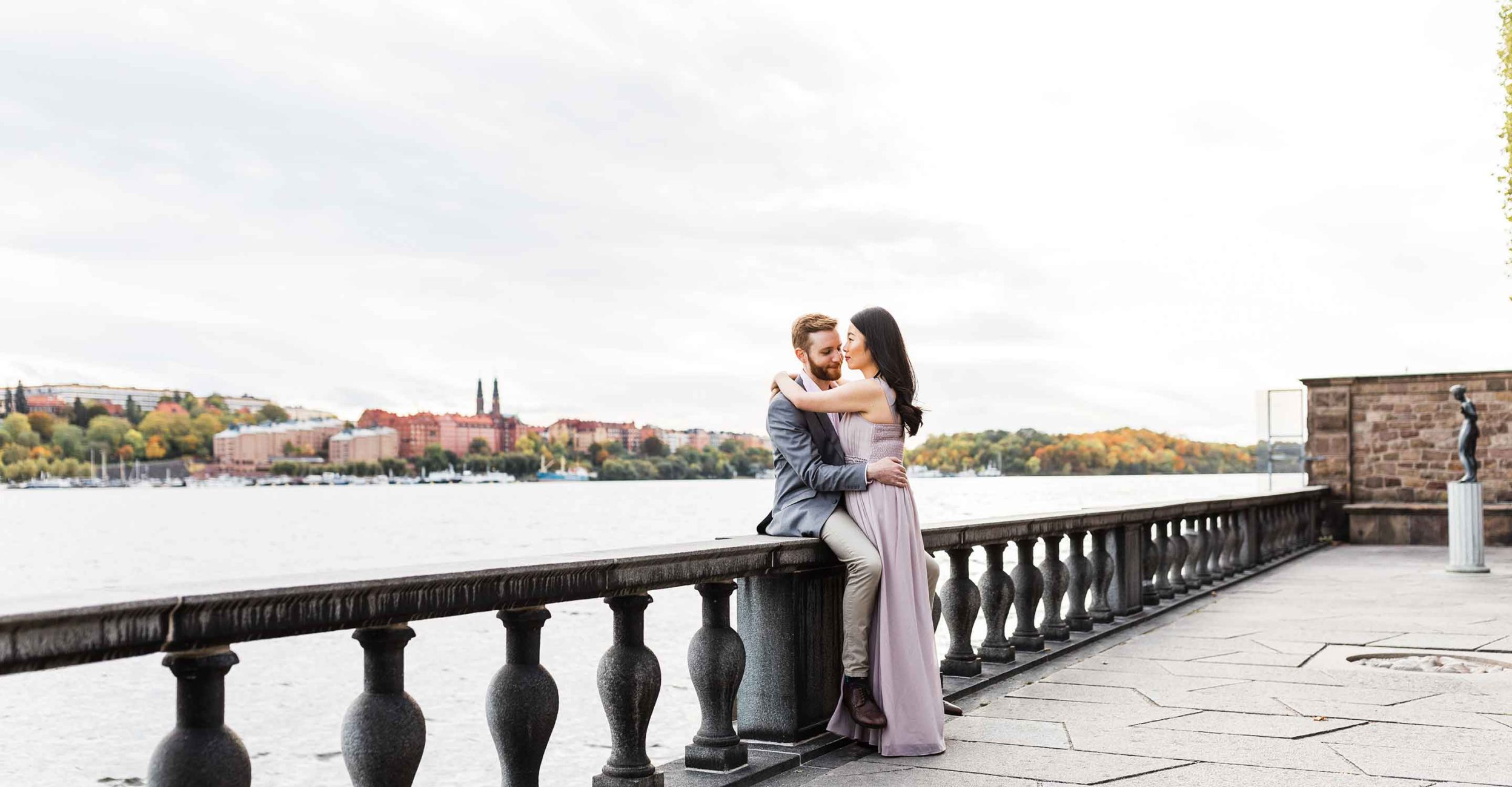 City hall wedding in Stockholm
