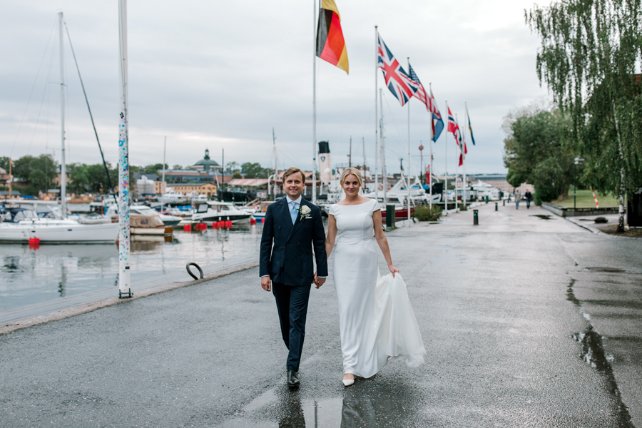 Bröllop i Djurgårdskyrkan & Spritmuseum