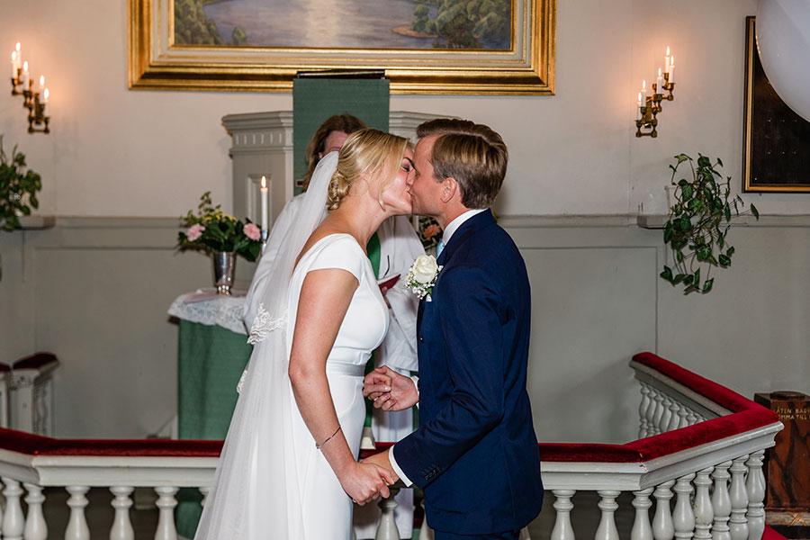 Bröllop i Djurgårdskyrkan