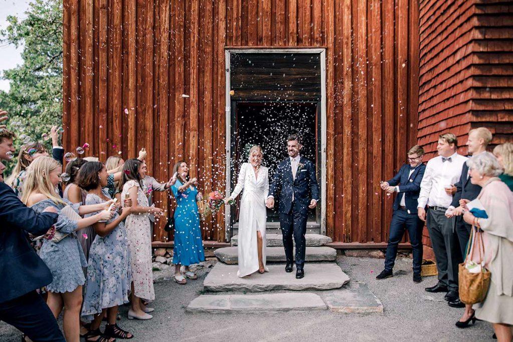 Bröllop Seglora kyrka