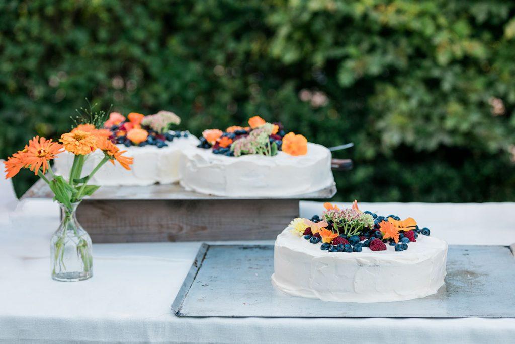 Bröllopstårta, Rosendals Trädgård
