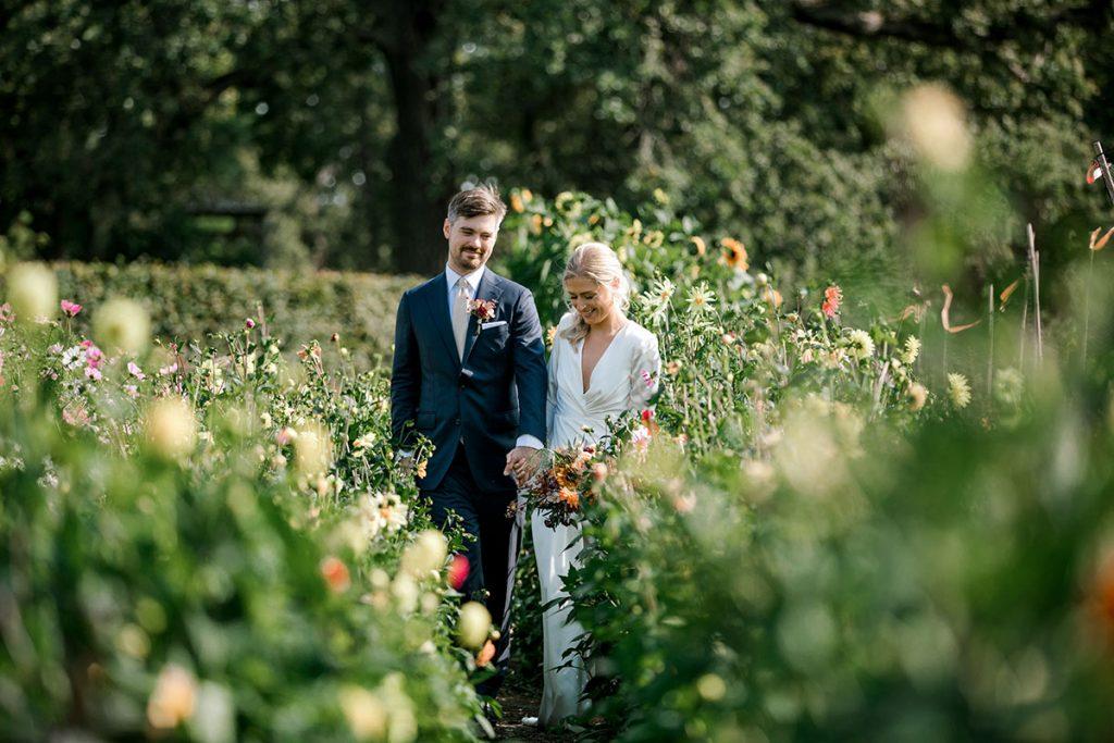 Bröllop på Rosendals Trädgård