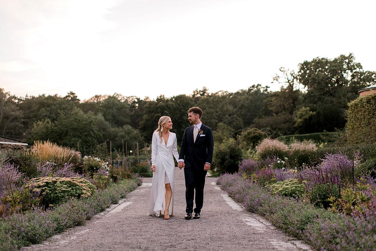Bröllop Rosendals trädgård